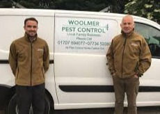 Woolmer Pest Control Team - Conner (left), Malachy (right)