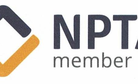 NPTA membership renewed!