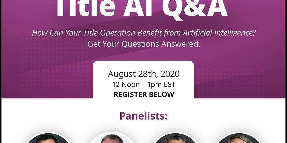Title A.I. Q & A