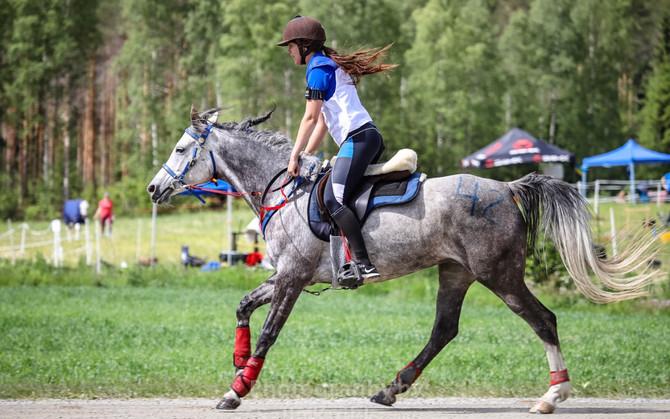 Põhjamaade meistrivõistlused kestvusratsutamises Soomes, 16.juuni 2018