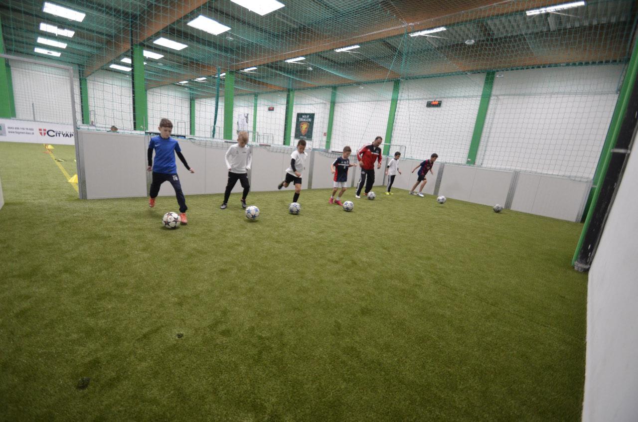 Kleiner Trainingsbereich