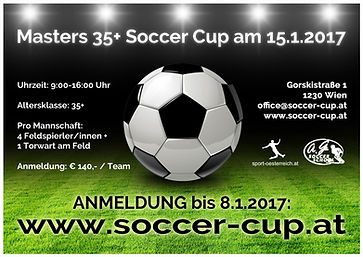 Masters 35+ Soccer Cup