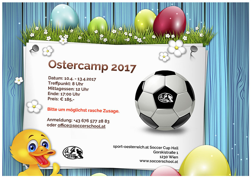 Soccer Cup - Ostercamp 2017