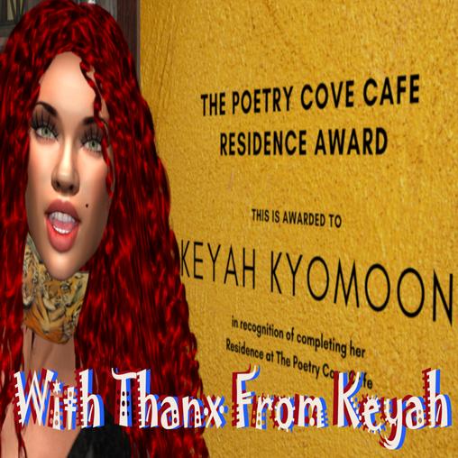 First Poet in Residence: Keyah Kyomoon