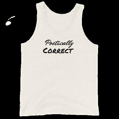Men's Poetically Correct Tank Top