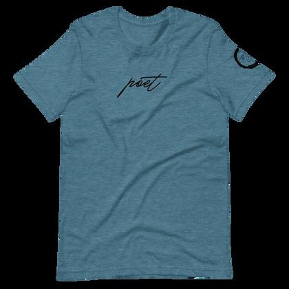 Men's 'Poet' Short-Sleeve Unisex T-Shirt
