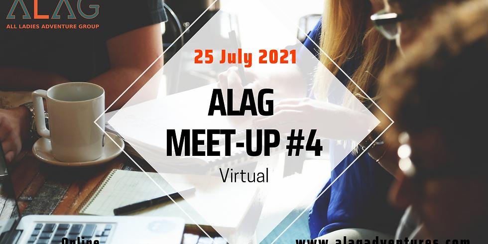 ALAG Meet-up #4 - IT'S VIRTUAL