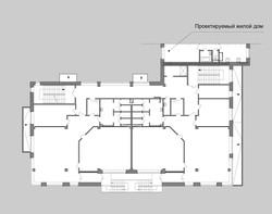 детский сад план 2 этажа
