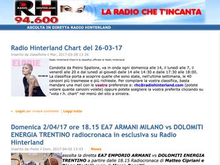 Kris - intervista su Radio Hinterland - FM94.6