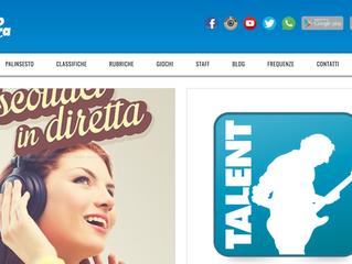 """Kris - ospite a """"Radiosveglia"""" di Luca Sestili su Radio Azzurra (leader Abruzzo/Marche)"""