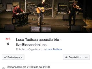 Kris - ospite Live al concerto di Luca Tudisca @locanda blues di Roma