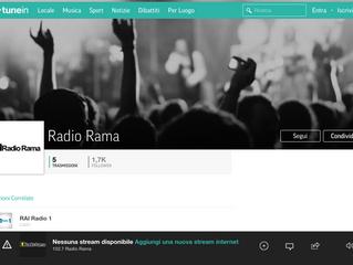 Kris - oggi ore 19.00 ospite di Radio Rama FM102.7