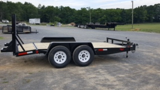 10,000 lbs. Tandem-Axle Construction Trailer