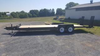 12,000 lbs. Tandem-Axle Construction Trailer