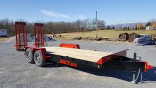 14,000 lbs. Tandem-Axle Construction Trailer