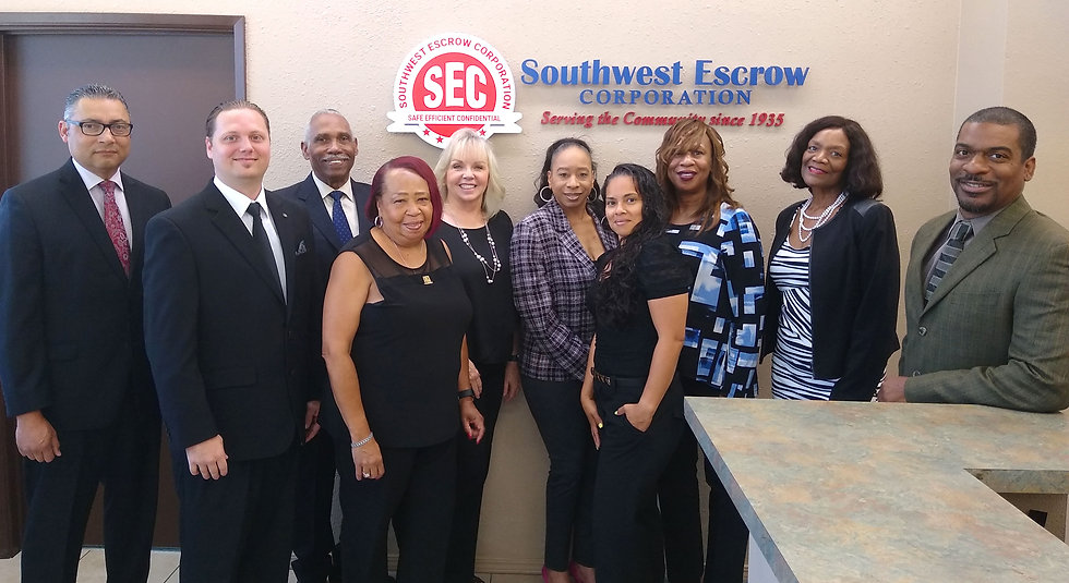 Southwest Escrow Staff