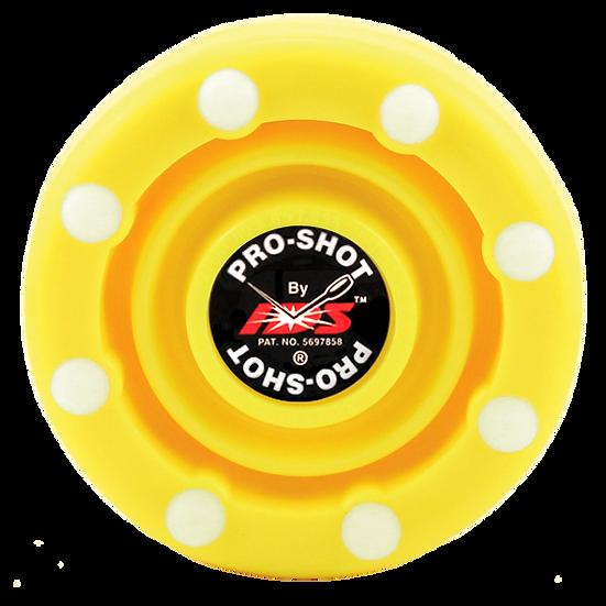 Flo Yellow – IDS Pro Shot Puck