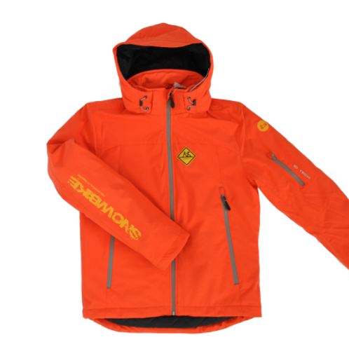 BJO SNOWBIKE SOFTSHELL JACKE Orange