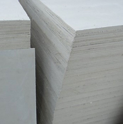 Application: For all kinds of thermal insulations ranging from domestic cookers and ironing boards to industrial  applications such as glass moulding, ovens and furnaces and domestic stoves. As the sheets can be bent to any diameter with a little moisture, they are most suitable for large diameter pipe cladding.