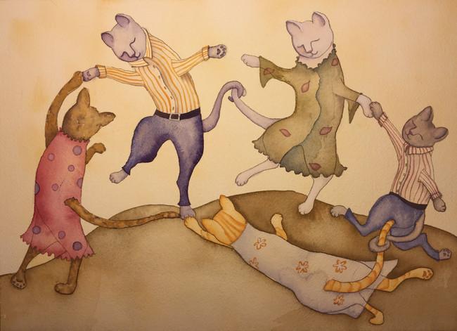 Illustration Prompt: DANCE