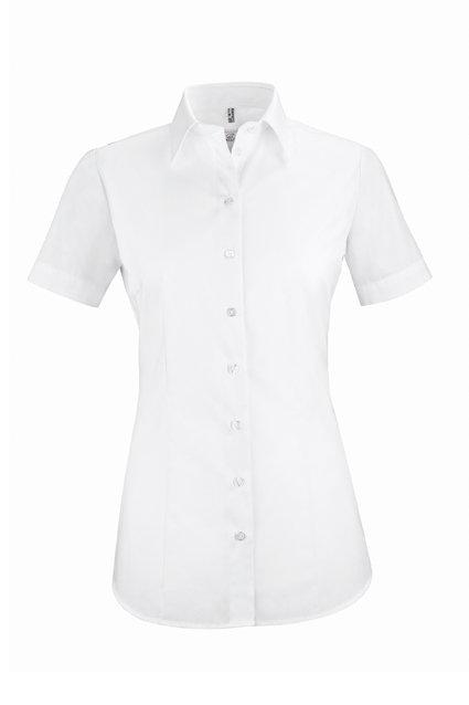 Damen-Bluse kurzarm