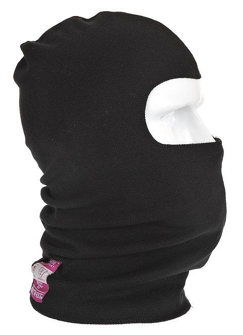 Flammhemmende, antistatische Kopfmaske FR18