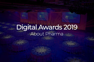 About Pharma Digital Awards 2019 mobile.
