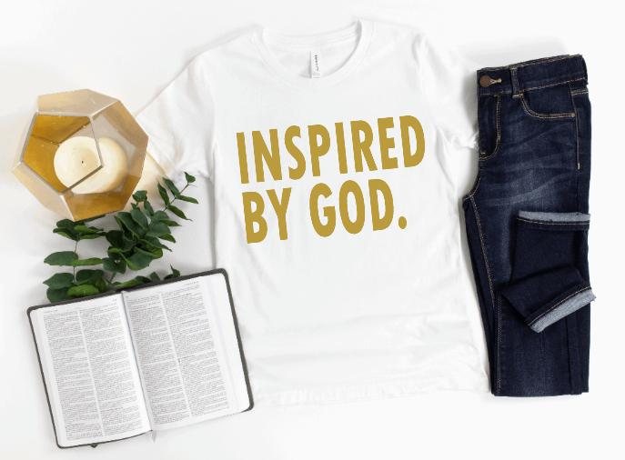 Inspired by God unisex t-shirt
