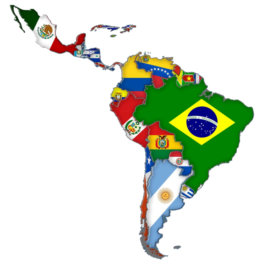 Latin Music originates from Latin America.