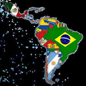 Latin Music originates from Latin America.