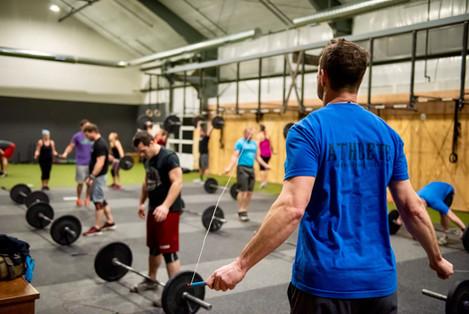 AM CrossFit Class