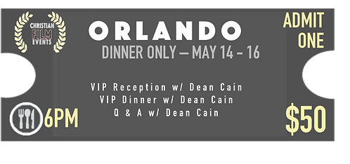 ORLANDO - Dinner Only