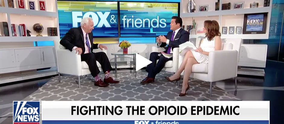 Dean Cain is about to start working on a film about the opioid and goes on FOX NEWS to discuss.
