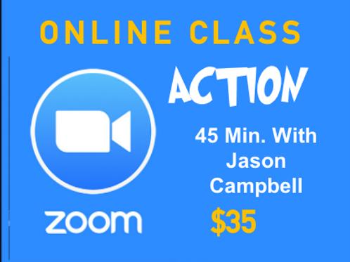 ONLINE CLASS - ACTION