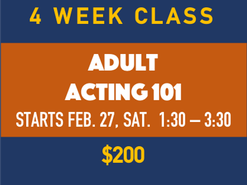 Adult Acting 101