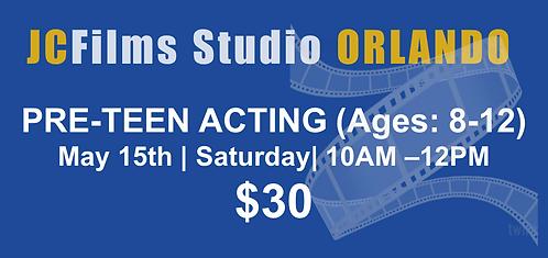 JCFilms Studios - PRE-TEEN - Orlando