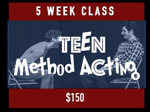 Teen - Method Acting
