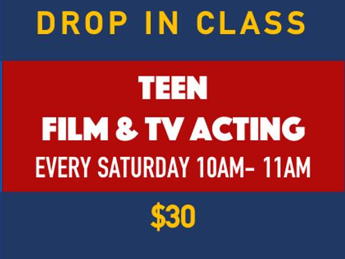 Teen Film & TV Acting