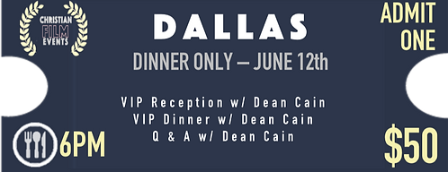 DALLAS - Dinner Only