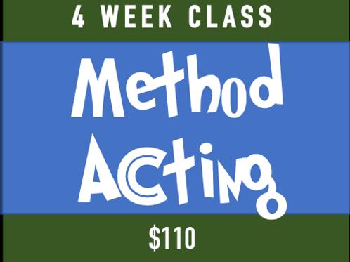 Method Acting 101