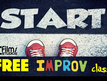 JCFIlms Studio Offers Free Improv Classes