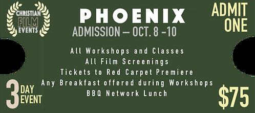 PHOENIX   - General Admission