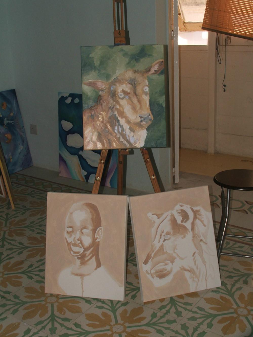 African Oil Paintings