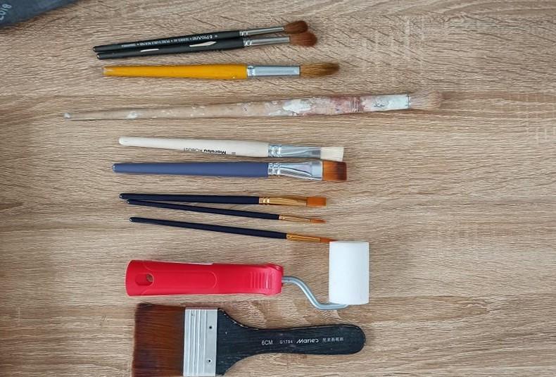 Beginner Painting Brushes