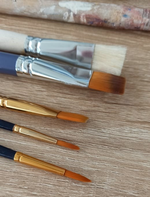 Synthetic Paintbrushes - Art Supplies Blog