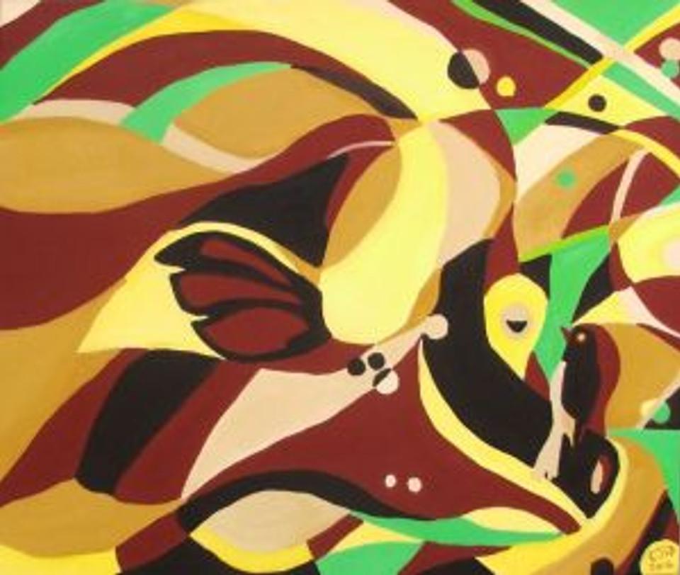 Symbiosis Oil Paintings Malta Chloe Waterfield Art
