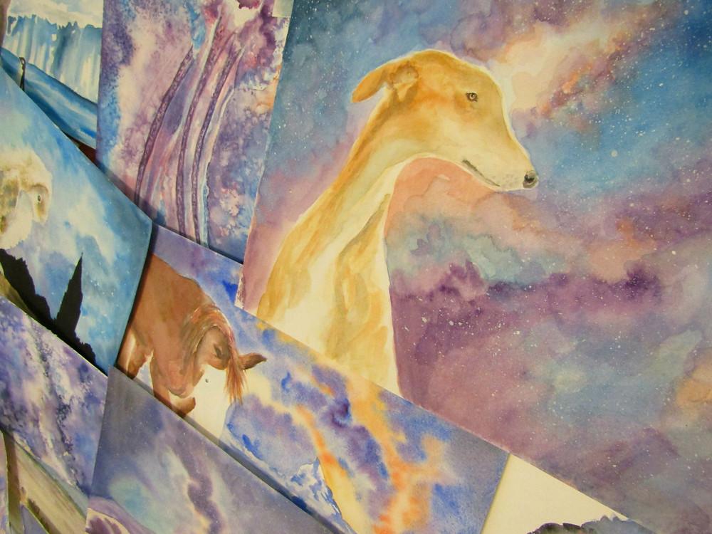 Cosmic Nature Paintings