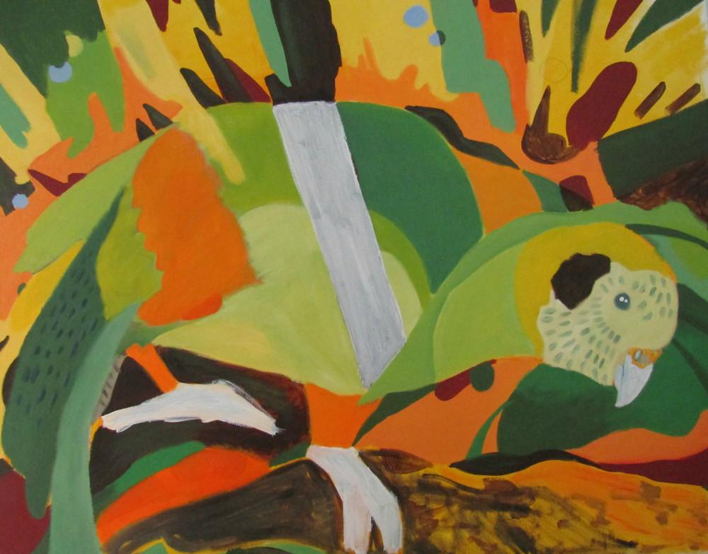 Kakapo Painting