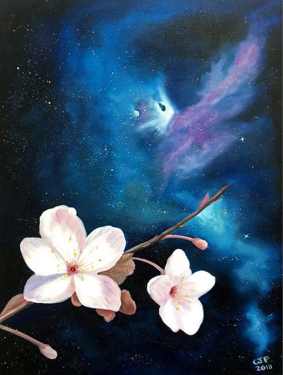 Cosmic Blooms