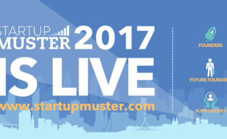 Startup Muster 2017 now open